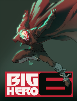 Big Hero 6 Bad Guy by AlexRedfish