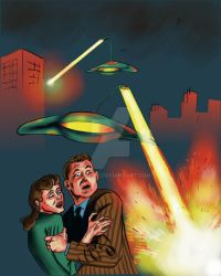 the war of the worlds by zeddero