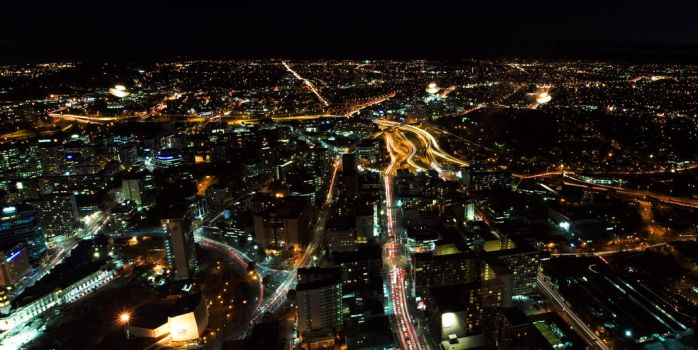 Auckland City Traffic Network by Shutong