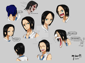 One Piece OC : Young Heiwazi Philip by Amy-chawn99