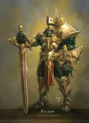 Paladin Concept by liquidology