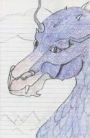 Saphira by the-pink-dragon