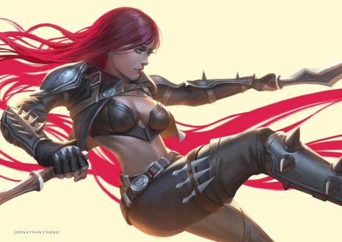 Katarina by JohnathanChong