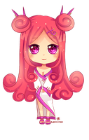 -- Chibi Commission for Rarity-Princess 2 -- by Kurama-chan
