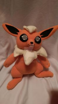 Flareon Fleece Plush by LittleNii