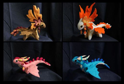 Plush dragons mix II by hontor