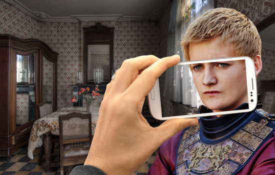 Joffrey's Selfie at Riding Hood's Granny's Home by huskyfish