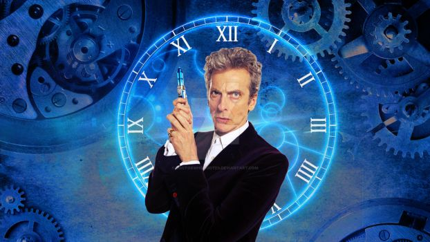 Peter Capaldi Gears by DOCTORWHOQUOTES