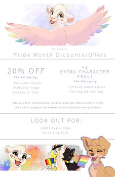 -PRIDE MONTH DISCOUNTS- by Kitchiki