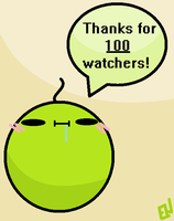 100 Watchers!! by Emmerson4278