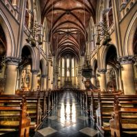 The Catholic Cathedral - HDR by Ageel