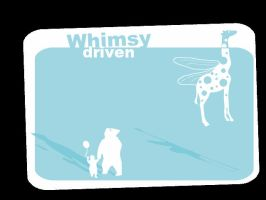 Whimsy driven by goshdarnart