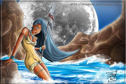 Disney Pocahontas by PAabloO