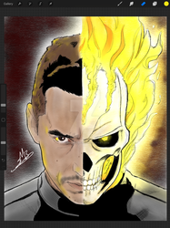 Ghost Rider Agents of SHIELD by CorranHorn507