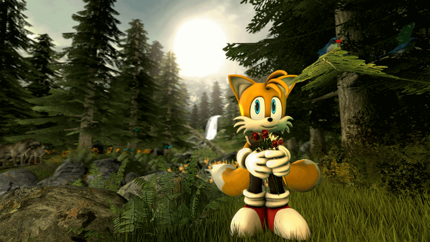 Tails - Flowers in the Forest by MichaelJFan77