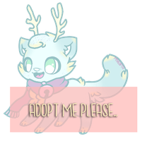 Catdeer Adopt Auction (CLOSED) by Miyeopta