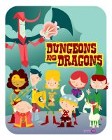 Dungeons n' Dragons by Montygog