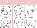 [YCH]Mix Expressions icons [OPEN] by TheStevieBoy
