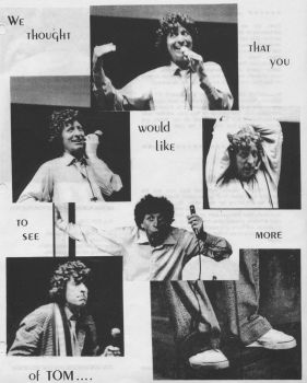 From Old Con Flyer - TOM BAKER by pattie-anne