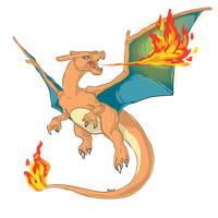 Charizard by Drindex