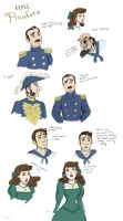 HMS Pinafore sketches by chill13