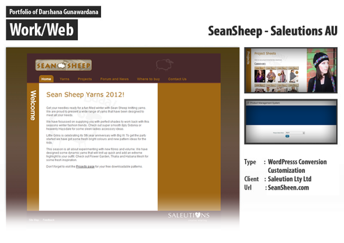 SeanSheep Wordpress Conversion by darshana4it