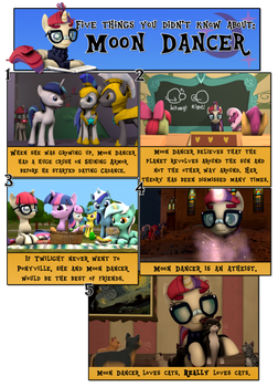 5 Things You Didn't Know About: Moon Dancer by Rated-R-PonyStar