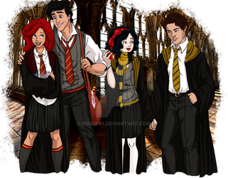 Disney at Hogwarts: 1/8 by Eira1893