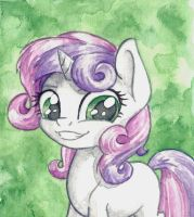 Sweetie Belle by The-Wizard-of-Art