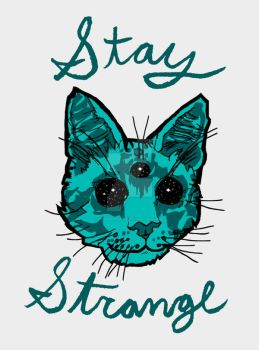 Stay Strange by HiddenStash