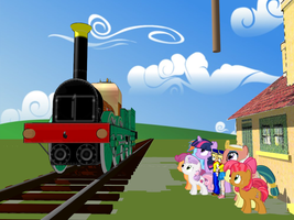 the Lion or the Ponyville Thunderbolt by Tonypilot