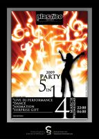 5 in 1 Party Poster by SanalSanat