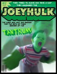 Joey Hulk issue 2 by doncroswhite