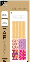 Pattern Pack - Sixtees by iMouritsa
