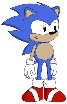Sonic CD Styled by Supersonia