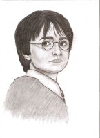 Harry Potter by MajaGantzi