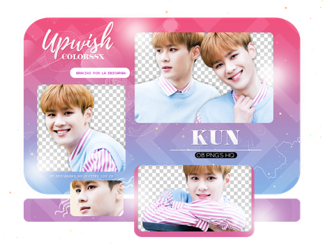 KUN PNG PACK #1/NCT by Upwishcolorssx