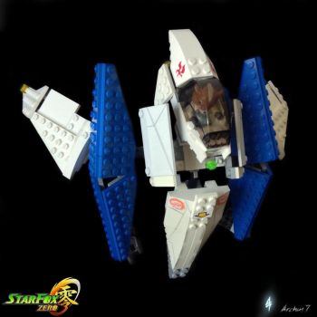 Lego Star Fox Zero Arwing II by archus7
