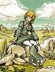 Nausicaa by the-muriatic-acid