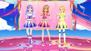 Aikatsu Model Pack: Luminas (Game Style) by MihoNosaka-MMD