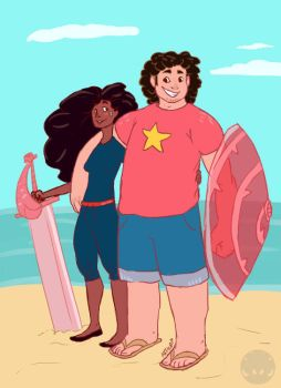 Adult Steven and Connie by theKampe