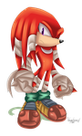 SB - Knux by VagabondWolves