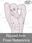 Patreon: Raised Arm Pose Reference by DizzyT