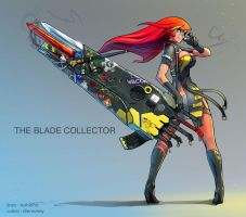 the Blade Collector by dinmoney
