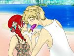 The Lion and his Lamb .:beach fun:. by HelloSunniLove