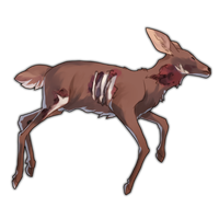 Deer Carcass - 200 Crystals by The-Below