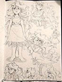 oc sketch page by BabaKinkin
