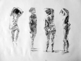 some 5 minute poses by turningshadow