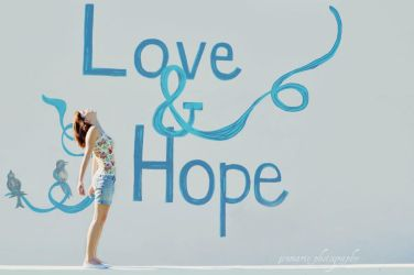 love and hope. by jenmarie123