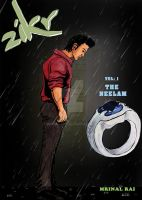 Zikr - Vol1 (Cover for my graphic novel) by mrinal-rai